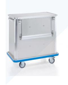 Carro de transporte G®-TRANS D 1508 / 360 SCU con tapa y parachoques de PVC