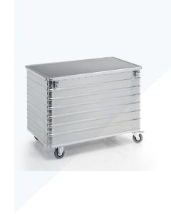 Carro de transporte G®-TRANS D 3008 / 656 y contenedor de documentos confidenciales G®-DOCU D3009 / 656
