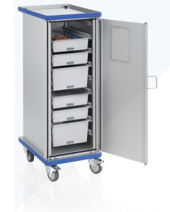 Carro armario móvil para módulos G®-CUP ISO E 2731 ID
