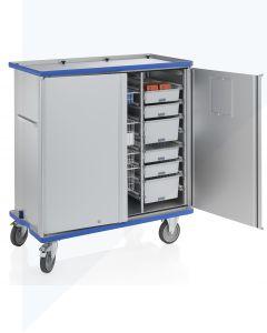 Carro armario móvil para módulos G®-CUP ISO E 2733 ID