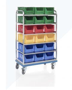 Carro de estantes sobre ruedas G®-ORG E 2801 / 5