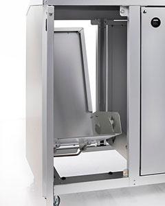 Mecanismo metálico absolutamente fiable y alta durabilidad
